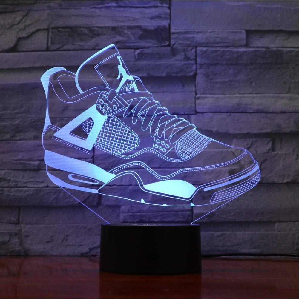Compliance Weihnachtsgeschenke.Mmzki 7 Bunte Usb Sneaker Schuhe 3d Illusion Lampe Kinder