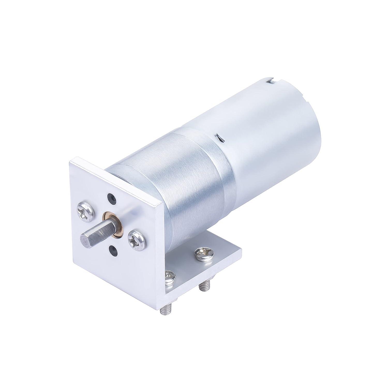 CQROBOT9.68:1LP 금속 DC GEARED-모터 25DX47.8L MM2.5W   12V 금속으로 설치 장착 브래킷. 560 분당 회전수   1KG.CM (15OZ.IN) D 형 출력축 4MM   12.5MM(직경   길이)