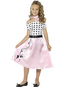 Fancy Ole - Disfraz de niña de los años 50, Disfraz de Poodle de ...