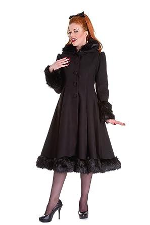Bunny Kapuzen Winter Elvira Rockabilly Pin Up Mantel Hell WEH9YD2I
