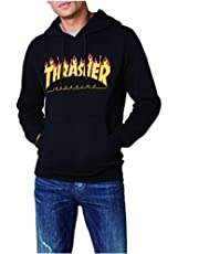 Thrasher Magazine Hoodie Pullover Hoody Mens Hooded Sweatshirt with Pocket