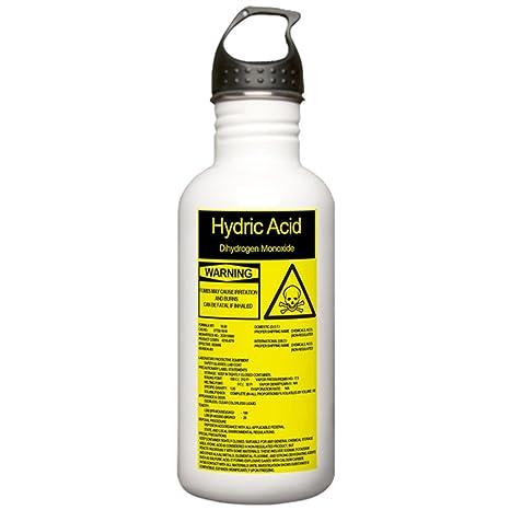 Amazon.com: CafePress – hydric Acid Acero Inoxidable Botella ...