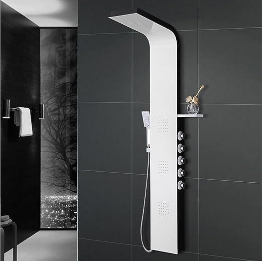 ZJMSDK Grifo para baño 304 de Acero Inoxidable, Cinco Funciones ...