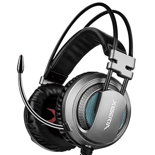 25 opinioni per XIBERIA V10 Cuffie Gaming USB Suono surround Over-Ear Auricolari con Microfono