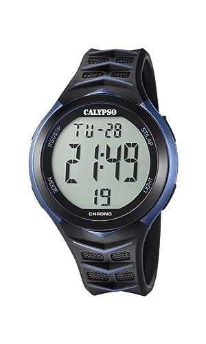 a6915af04f82 Calypso Reloj Digital para Hombre de Cuarzo con Correa en Plástico K5730 2   Calypso  Amazon.es  Relojes
