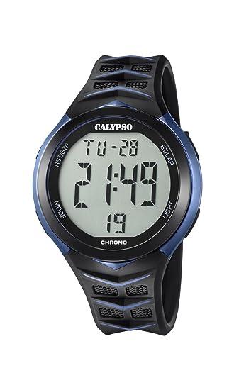 Calypso Reloj Digital para Hombre de Cuarzo con Correa en Plástico K5730/2: Calypso: Amazon.es: Relojes