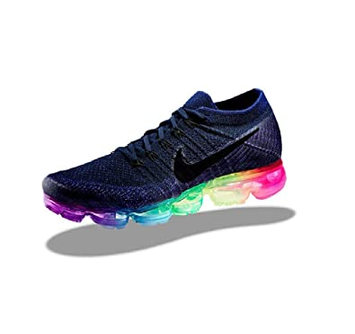 582ed441efe92 Nike Lab Air Vapormax Flyknit Be True Gay Rainbow Pride LGBTQ 883275-400 US  Size 10.5  Amazon.co.uk  Shoes   Bags