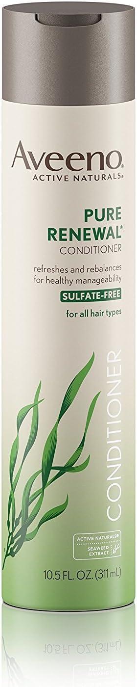 Aveeno Pure Renewal Conditioner, 10.5 Fluid Ounce - 12 per case.