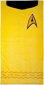 Star Trek Toalla de Playa (Kirk (Oro))