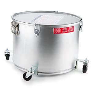 MirOil 60LC Fryer Filter Machine Safety Filter Drain Pot