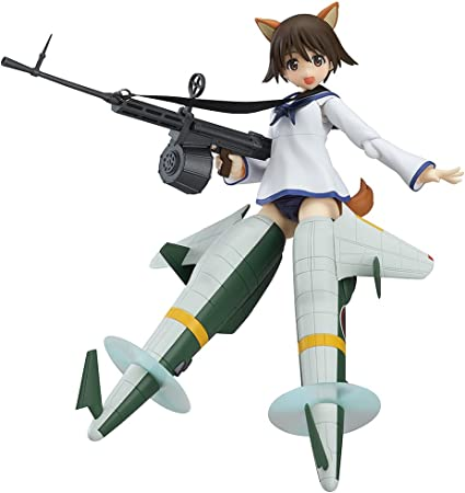 Yoshika Miyafuji Figma Action Figure Max Factory Strike Witches Diamond Comic Distributors SEP158375 Movie Version