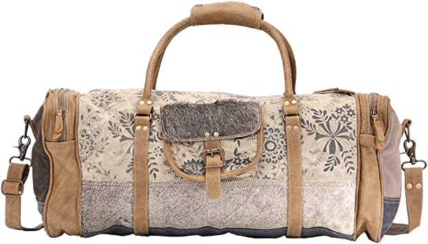 Amazon Com Myra Bag Traverse Upcycled Canvas Cowhide Traveller Duffel Bag S 1508 Shop with afterpay on eligible items. myra bag traverse upcycled canvas cowhide traveller duffel bag s 1508