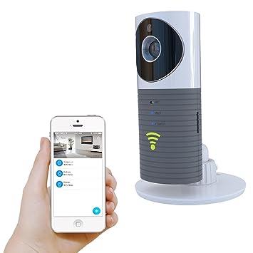 ... P2P Visión Nocturna Grabación Vídeo Dos Vías Audio Detectado Movimiento Apoyo TF Tarjeta para iPhone iPad Android Smartphon-Gris: Amazon.es: Electrónica
