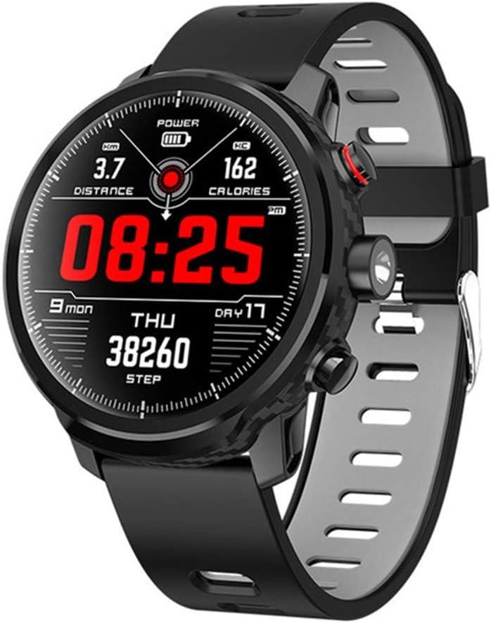 XUWLM Pulsera Reloj Inteligente Android IP68 Resistente al Agua 3G WiFi GPS Reloj Inteligente Llamada telefónica Cámara SIM Bluetooth para iPhone Samsung