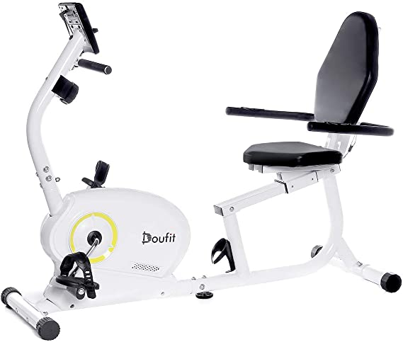 Doufit Recumbent Exercise Bike Stationary for Seniors and Adults