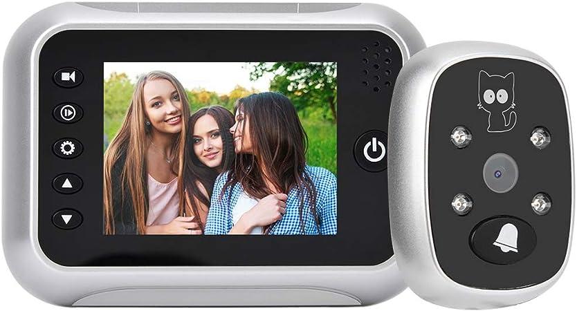 """NEW 3.5/"""" LCD Screen Digital Door Bell Doorbell Peephole Viewer Security Camera"""