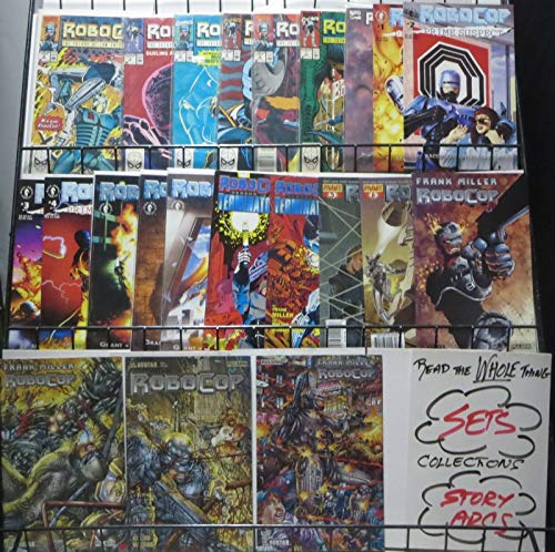 ROBOCOP- THE COMIC COLLECTION! 22 BOOKS! Dead or Alive, you're buying this lot!