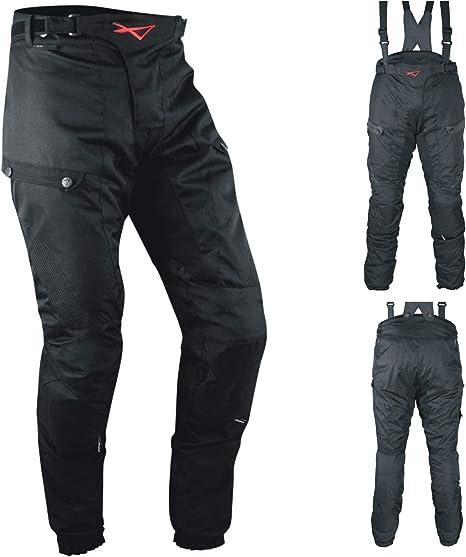 Pantaloni 3 Strati Moto Tessuto Cordura Impermeabile Sfoderabile Lady Donna 34