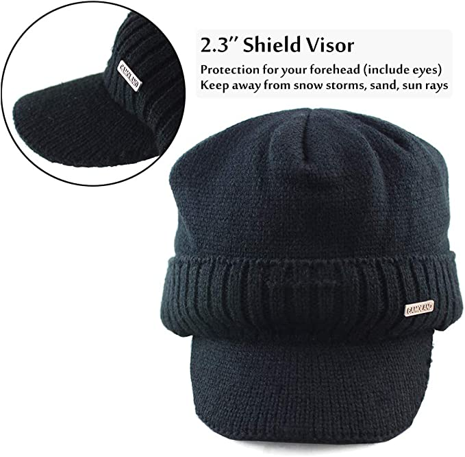 Winter one Size X50 Hi Viz Padded Ear Flap Cap Ideal For Work Outdoor