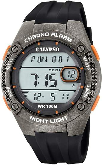 Calypso Reloj Cronógrafo para Hombre de Cuarzo con Correa en Silicona K5765/4