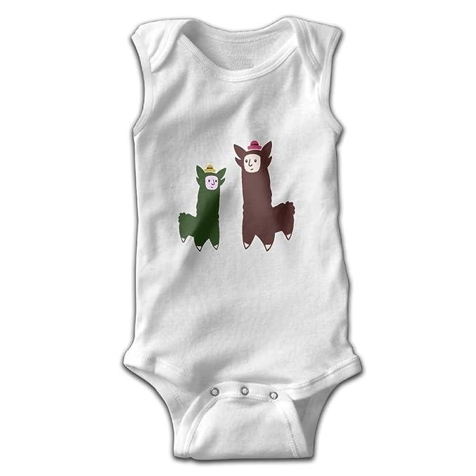 6879869104e04 Amazon.com: FORGAD Alpaca Llama Baby's Bodysuit Sleeveless Jumpsuit:  Clothing
