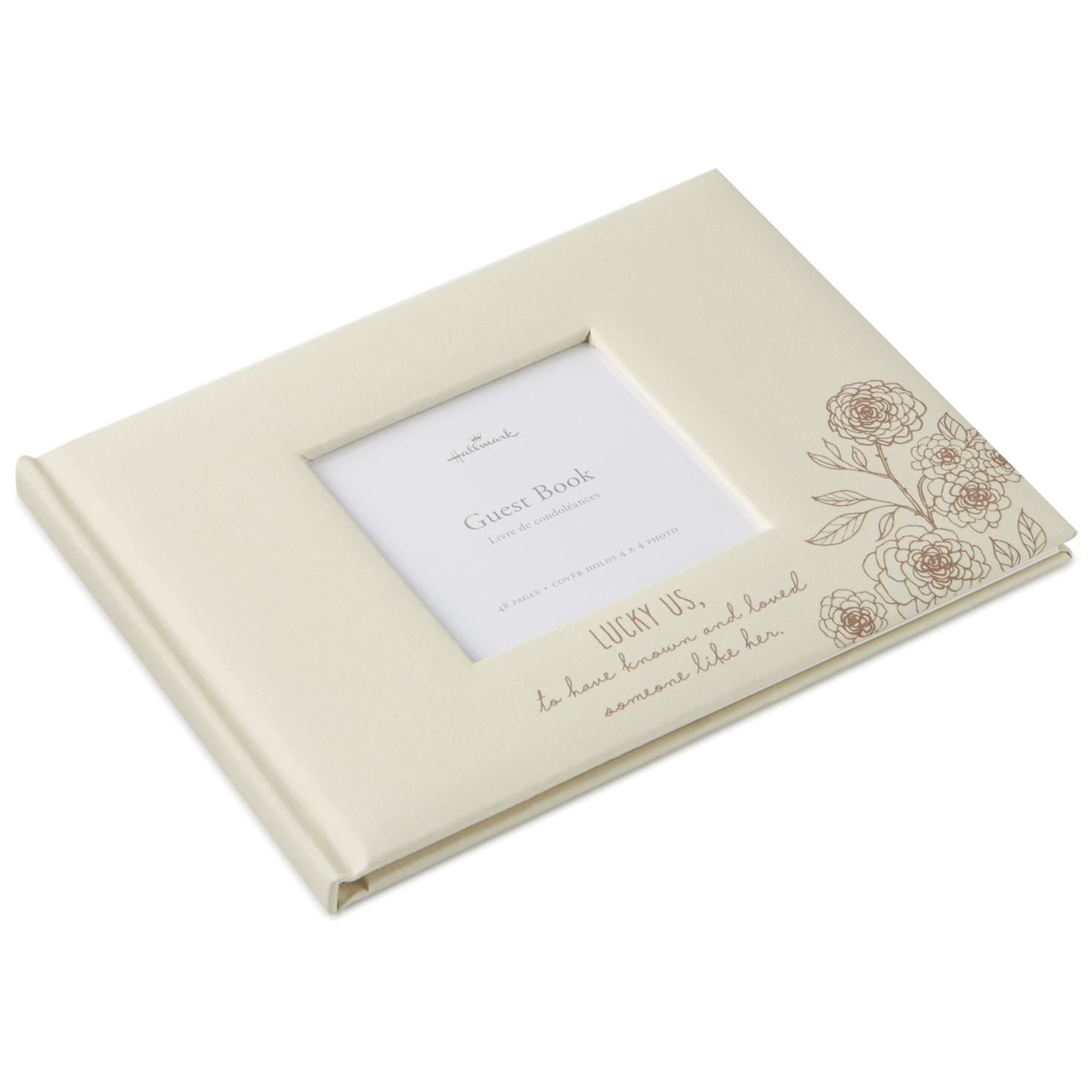 Hallmark Someone Like Her Memorial Guest Book