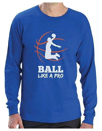 Camiseta de Manga Larga para Hombre- Baloncesto Regalos ...