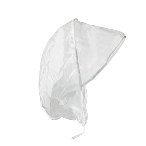 rainstopper Mujer de Lluvia Impermeable Transparente Gorro Sombrero