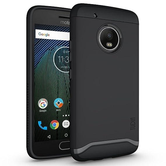 buy online 553eb 7b533 TUDIA Moto G5 Plus Case, Slim-Fit Heavy Duty [Merge] Extreme  Protection/Rugged but Slim Dual Layer Case for Motorola Moto G5 Plus (Matte  Black)