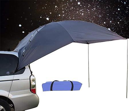 4YANG Carpa de Autos para vehículos Familiares y vehículos pequeños SUV/MPV Acampar al Aire Libre Camping Familiar Cuenta de Cola de Coche Cuenta de ...