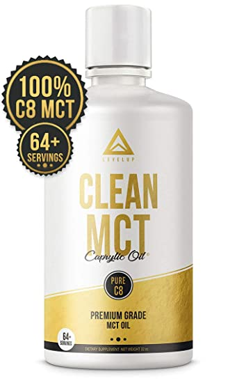 Clean MCT Oil: 100% Pure C8 Caprylic Acid Triglycerides | Best Ketogenic  Diet Supplement | The Ultimate