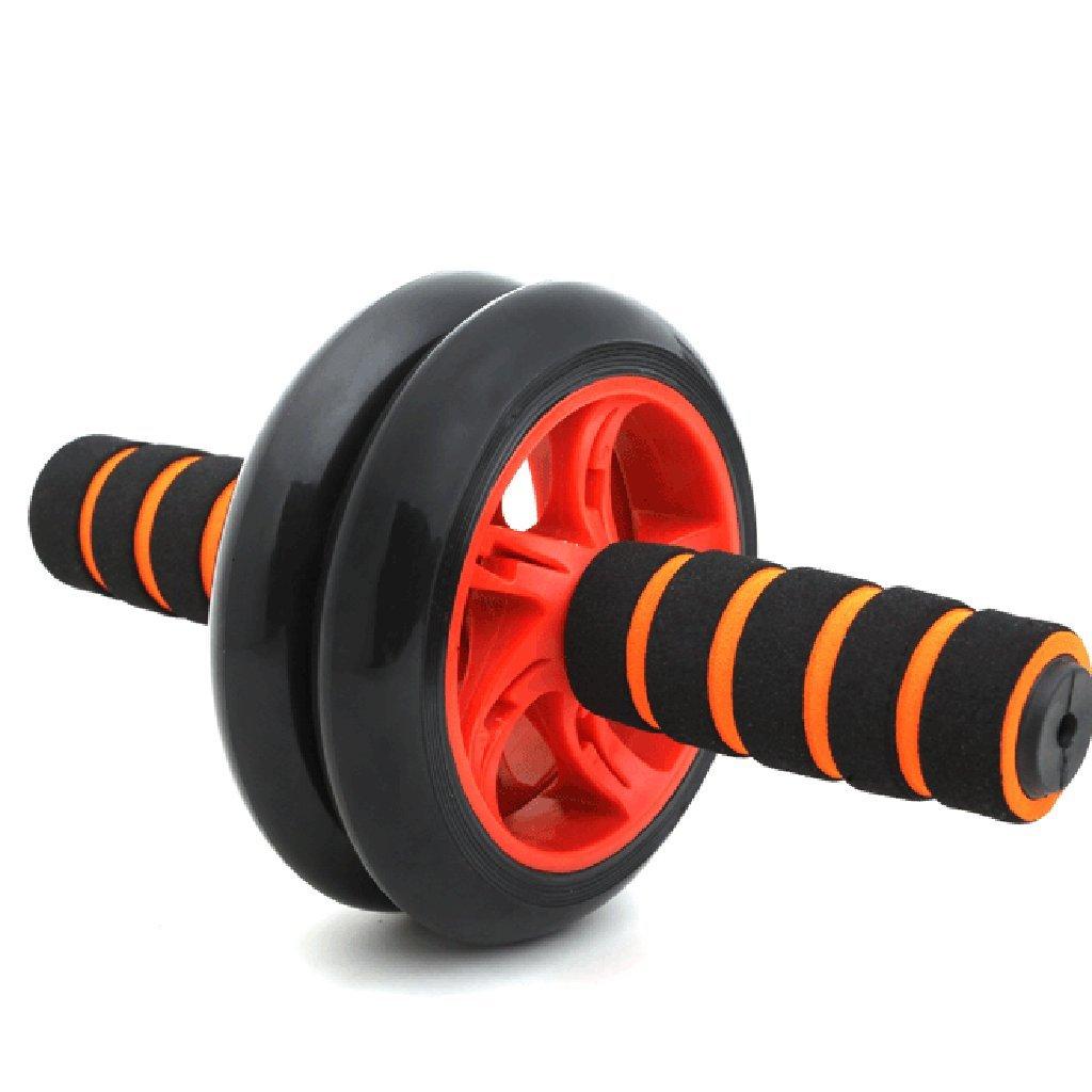 Abdominal Rad Männer Bauchmuskeln Fitnessgeräte Hause Anfänger Authentische Damen Sport Bauch Push-ups Roller (Farbe     6)