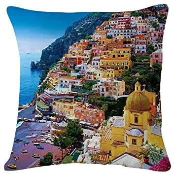 Amazon.com: Amalfi Coast Italia City – Manta funda de ...