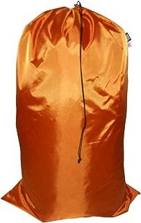 product image for Laundry Bag Heavy Duty Jumbo Sized Nylon Holds Approximately 40 lb Made in USA. (Orange)