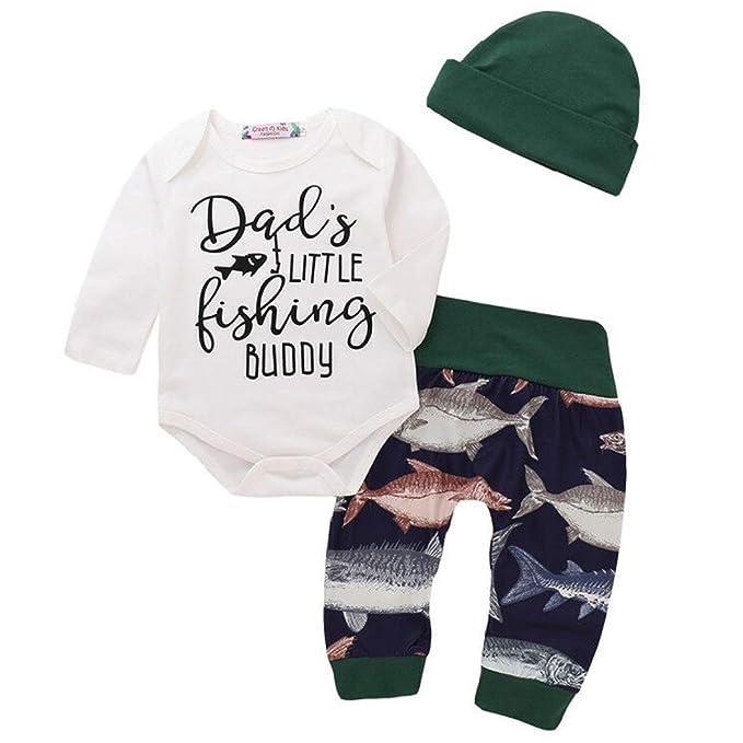 Amazon.com: Conjunto de traje de manga corta para bebés y ...