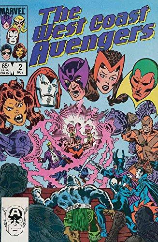 West Coast Avengers #2 VF/NM ; Marvel comic book