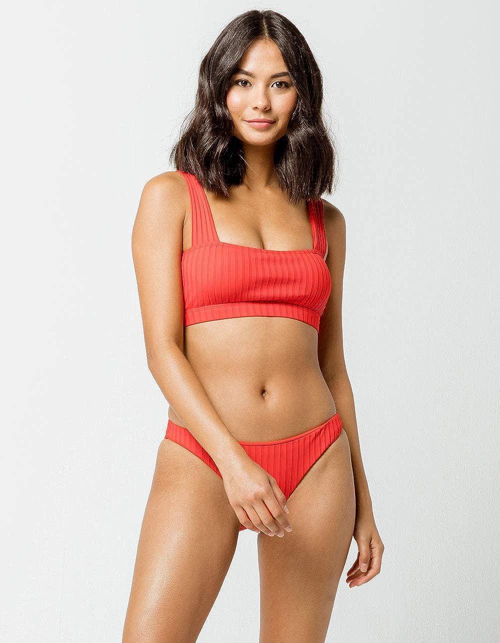 Billabong Women's Sunny Rib Tropic Bikini Bottom: Amazon.it