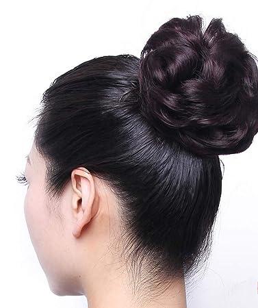 Amazon Seeya Synthetic Hair Bun Donut Updo Ponytail Extensions