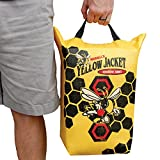 yellow jacket target - Morrell Yellow Jacket Crossbow Bolt Discharge Bag Archery Target - for Safely Discharging Crossbow Bolts After Hunting
