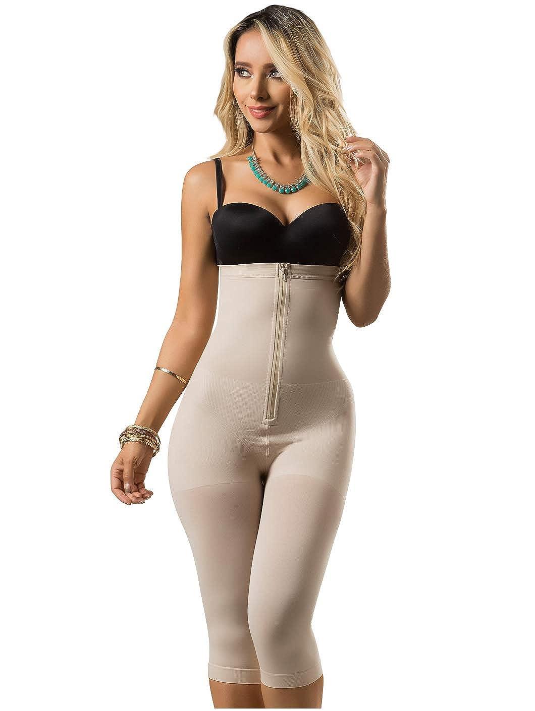 ba4e369f38 Rose 21998 Strapless Shapewear Full Body Shaper for Women Fajas Colombianas  Black at Amazon Women s Clothing store