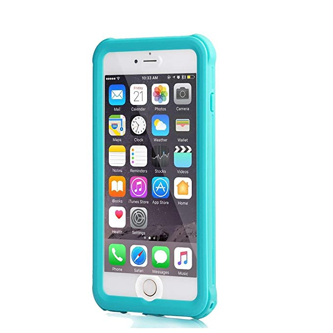 meritcase - Carcasa Impermeable para iPhone 6/6S Plus, a ...