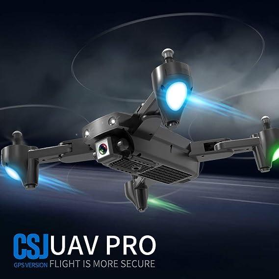Mobiliarbus RC Quadcopter CSJ S166GPS Drone con cámara 1080P ...