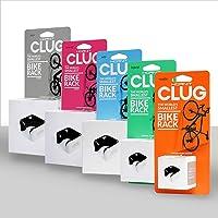 Clug CLUGLWHBK fietshouder, wit/zwart, 44-57 mm