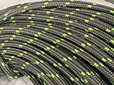 "1/2"" Arborist Rigging Double Braided Rope, Platinum (100')"