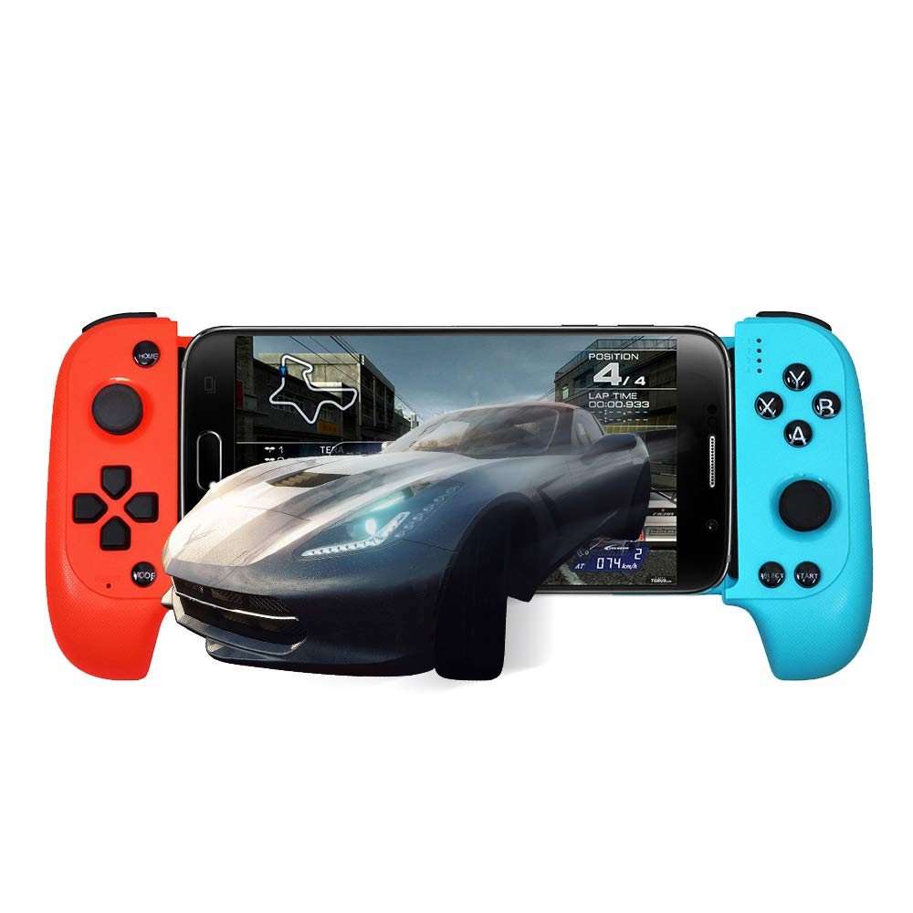 HIOTECH Gamepad Wireless Bluetooth Gamepad Telescopic Shockproof Connection Controller JoyStick Gamepad for Android Phones