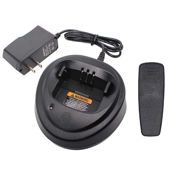 Charger for Motorola CP200 CP340 CP360 CP380 CP040 CP140 PM400 PR400 NNTN4496 NNTN4497 NNTN4970 WPLN4137 WPLN4138