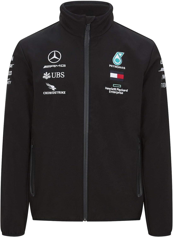 Mercedes Benz AMG Petronas F1 2020 Mens Team Softshell Jacket