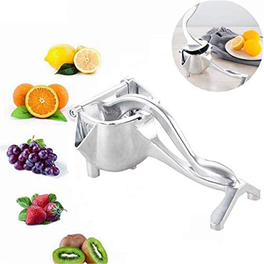 MYXP Stainless Steel Manual Juicer Portable Fruit Press Lemon Squeezer Metal Lemon Lime Squeezer