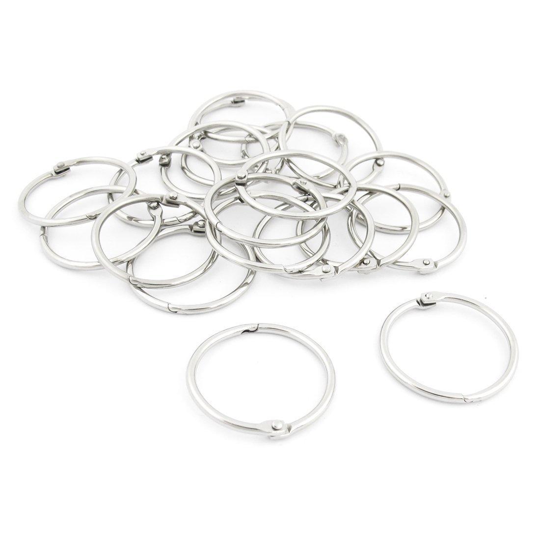 Metal Loose Leaf Binder Rings Key Rings -Copapa (2-inch)