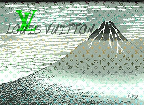Mt. Fuji 富士山 ルイヴィトン ポップアートポスター #sh58 A1サイズ(594×841mm) カラー sh58b B07519H4PD A1(594×841mm)|sh58b sh58b A1(594×841mm)